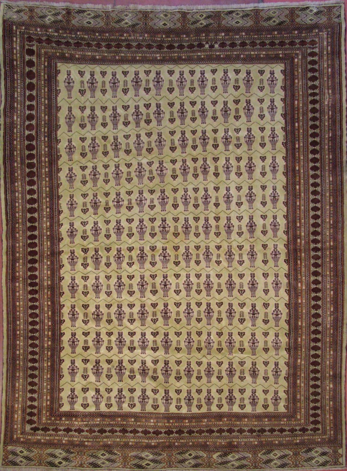 N. 212891 – TURKAMAN cm.363×281 – Tappeti Orientali e ...