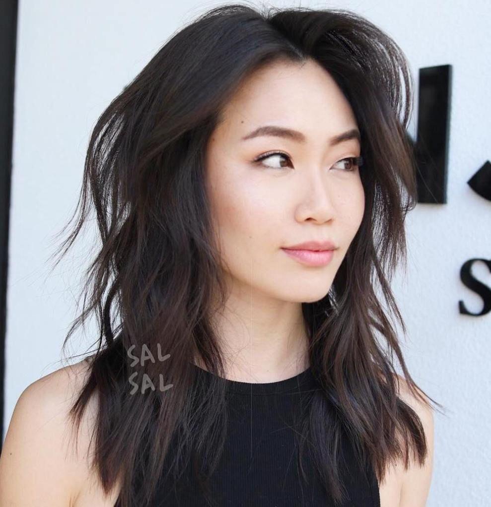 30 Modern Asian Hairstyles For Women And Girls Hair Pinterest