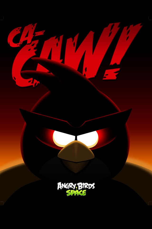 Angry Birds Space Ca Caw Iphone Wallpaper Angry Birds Star Wars Angry Birds Angry Birds Movie