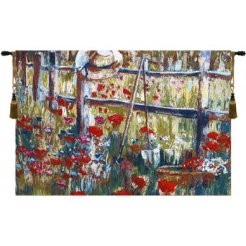 Campagne Belgian Tapestry (Monet)