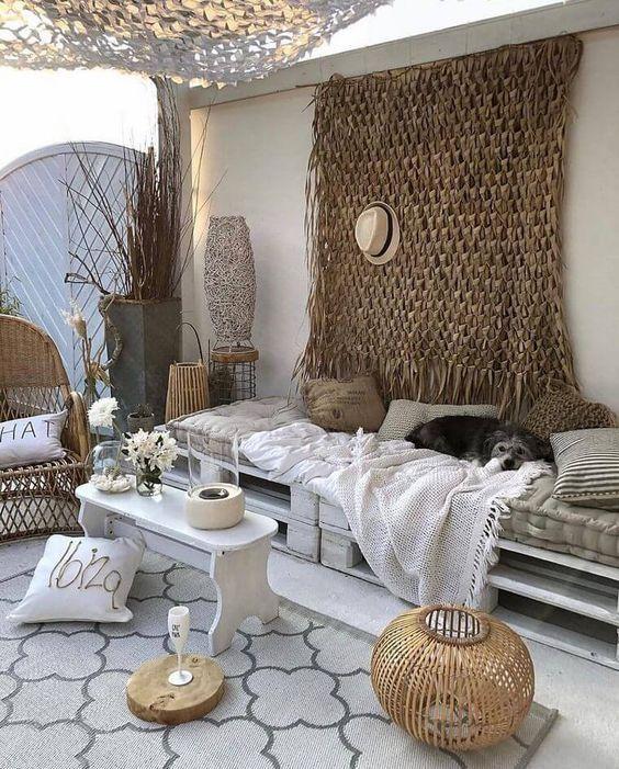 Aménager un salon d'été sur sa terrasse avec un petit budget