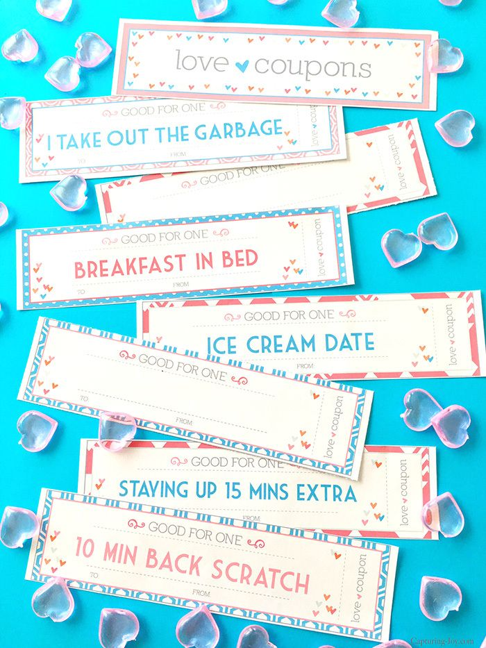 valentines day coupons for kids printable valentine coupons - Valentines Day Coupon Book