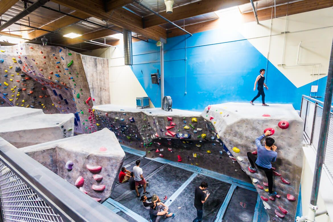 Word Of Mouth Los Angeles Arts District Rock Climbing Gym Los Angeles Bouldering Gym