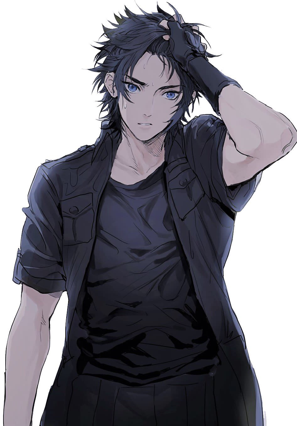 Anime Characters Male : Noctis from final fantasy male characters pinterest finals and anime