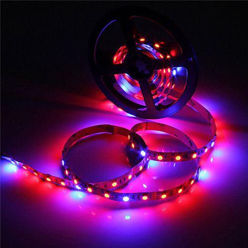 Zdm 5m Waterproof Ip65 5050 4 Red 1 Blue Full Spectrum Led Grow Light 300leds Led Strip Lamps For Plants Growing Aquarium Lighting 1pc Led Plant Lights