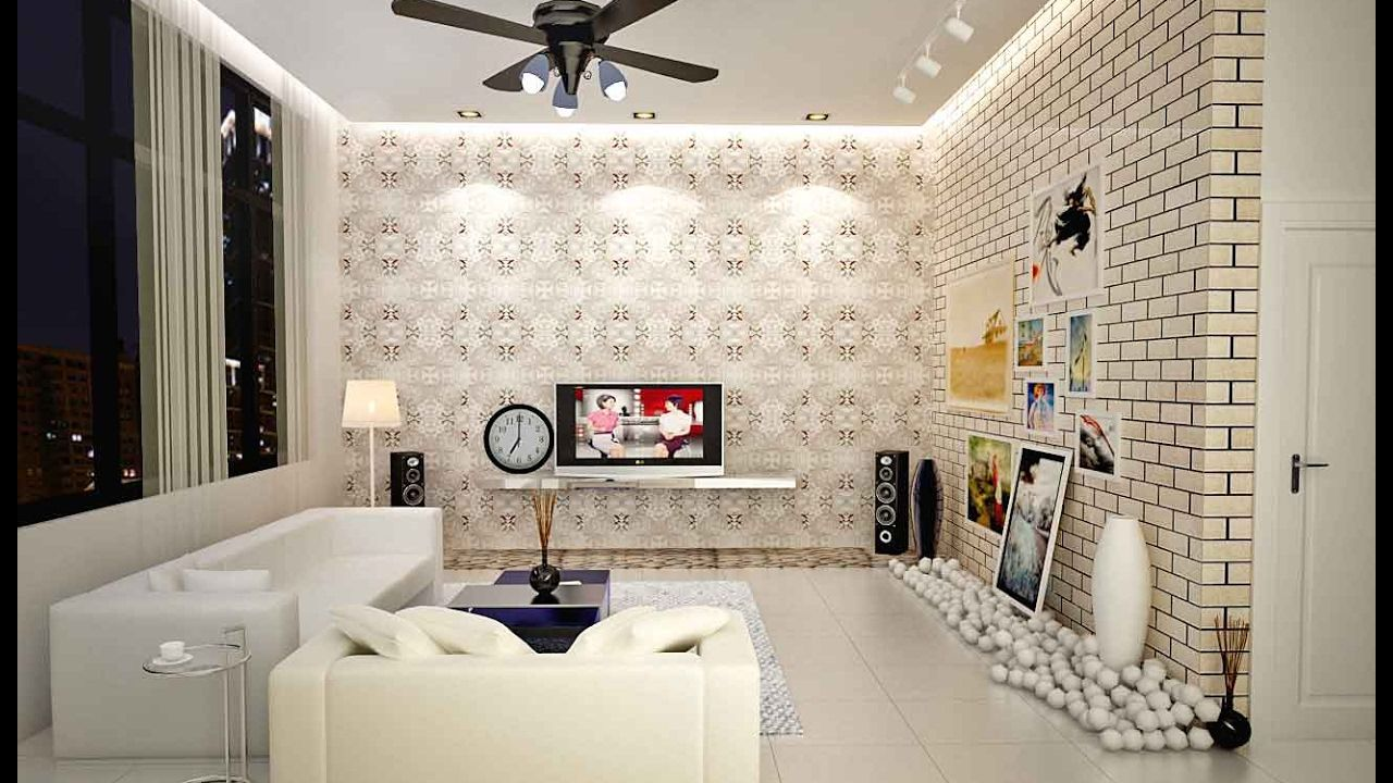 46+ Wallpaper Decorating Ideas Living Room Pictures
