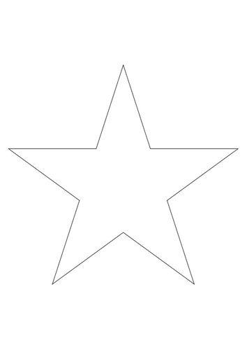 kleurplaat ster quilts deco