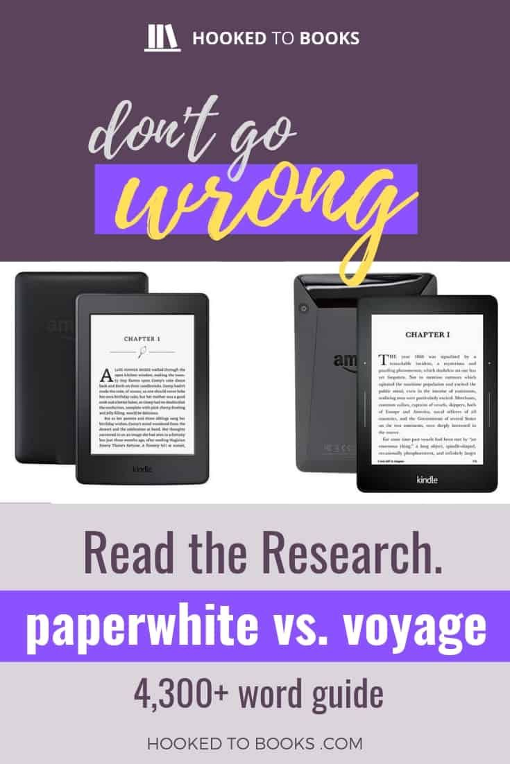 Kindle paperwhite vs kindle voyage which one should you