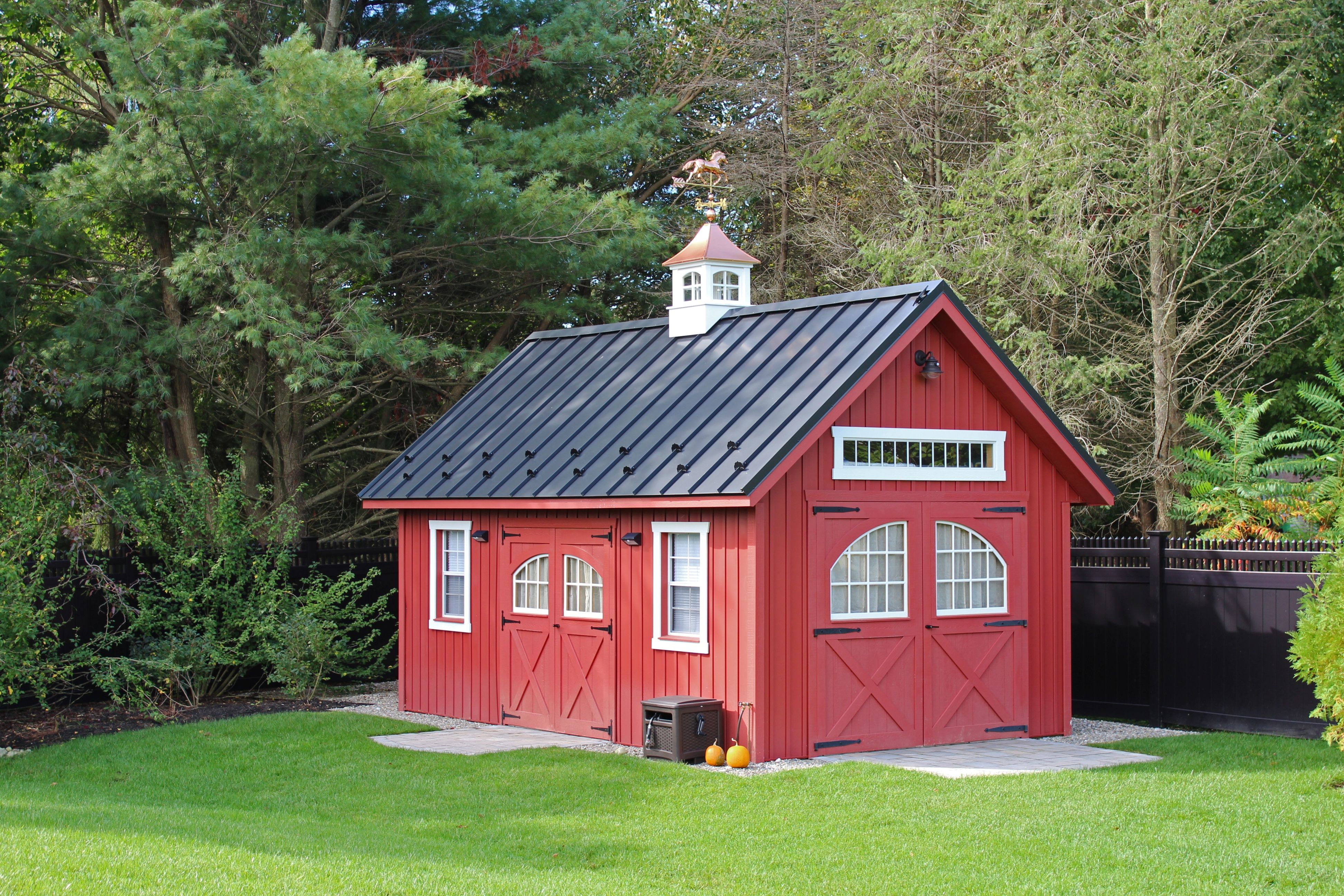 12 X20 Vinyl Board Batten New England Barn Visit Our Website At Www Lappstructures Com For More Information Or To Place Your Barns Sheds Vinyl Sheds Shed