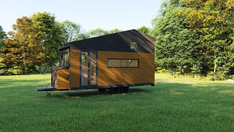 TRAVELLER - 6 Metre (20ft) Tiny House Plans - Tiny Home