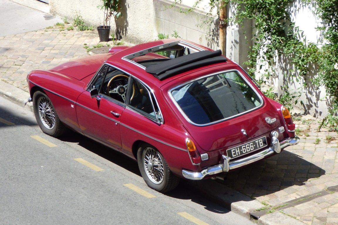 Classic Car Mg Mgb Gt Webasto Sunroof Mgb Gt Freak