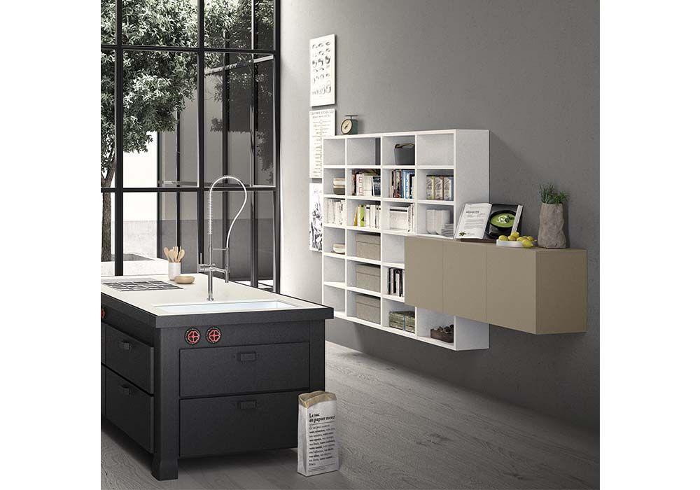 Contenitori componibili cucina ingresso living soggiorno mobili