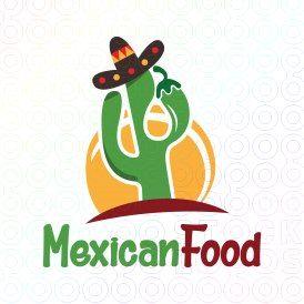 exclusive customizable logo for sale mexican food stocklogos com rh pinterest com mexico logos mexican logistics