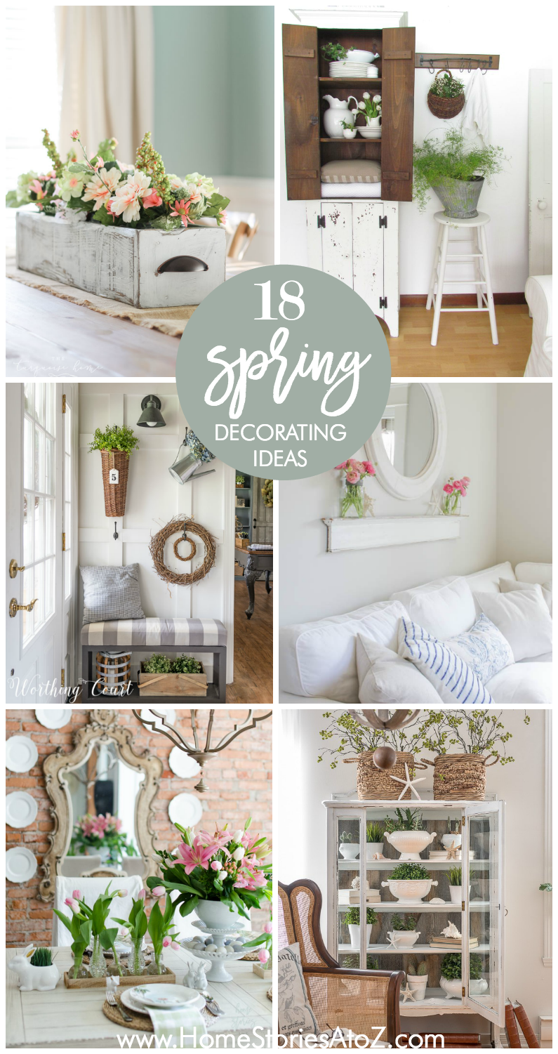 18 Spring Decor Ideas | Spring, Easter and Decorating