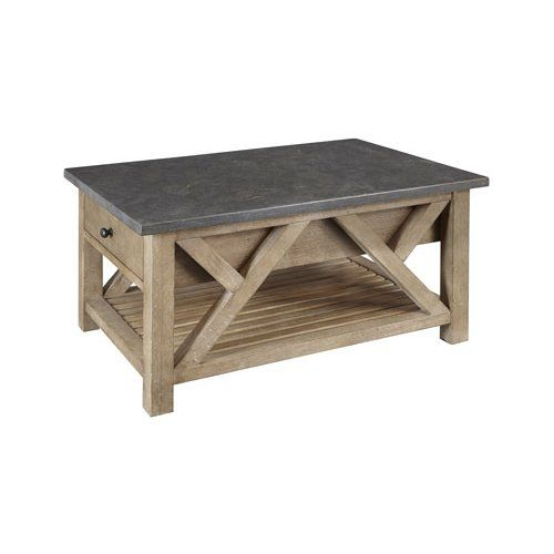 A-America WVARW7110 West Valley Cocktail Table with Bluestone Top | ATG Stores
