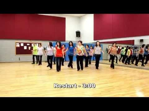 Ex's and Oh's - Line Dance (Dance & Teach in English & 中文) - YouTube