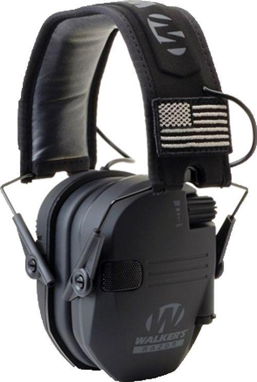 Walker/'s Razor Quad Electronic Bluetooth Muff-Black New