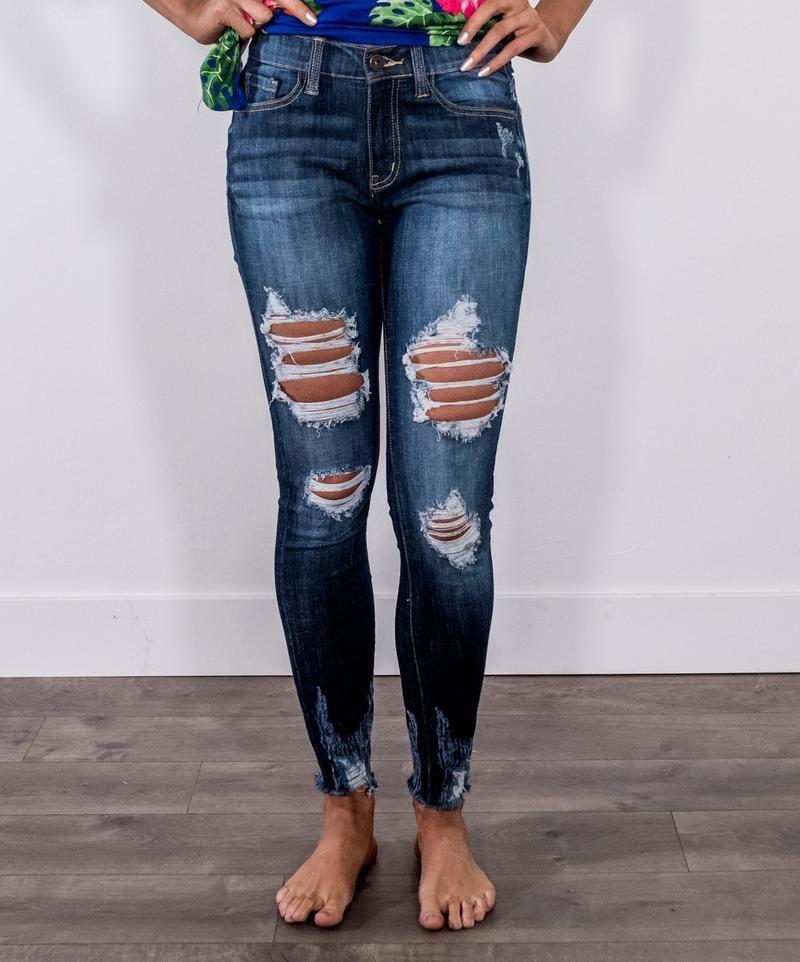 2da87d355d0f Mayberry's Daring in Denim Distressed Jeans in 2019 | Miranda's ...
