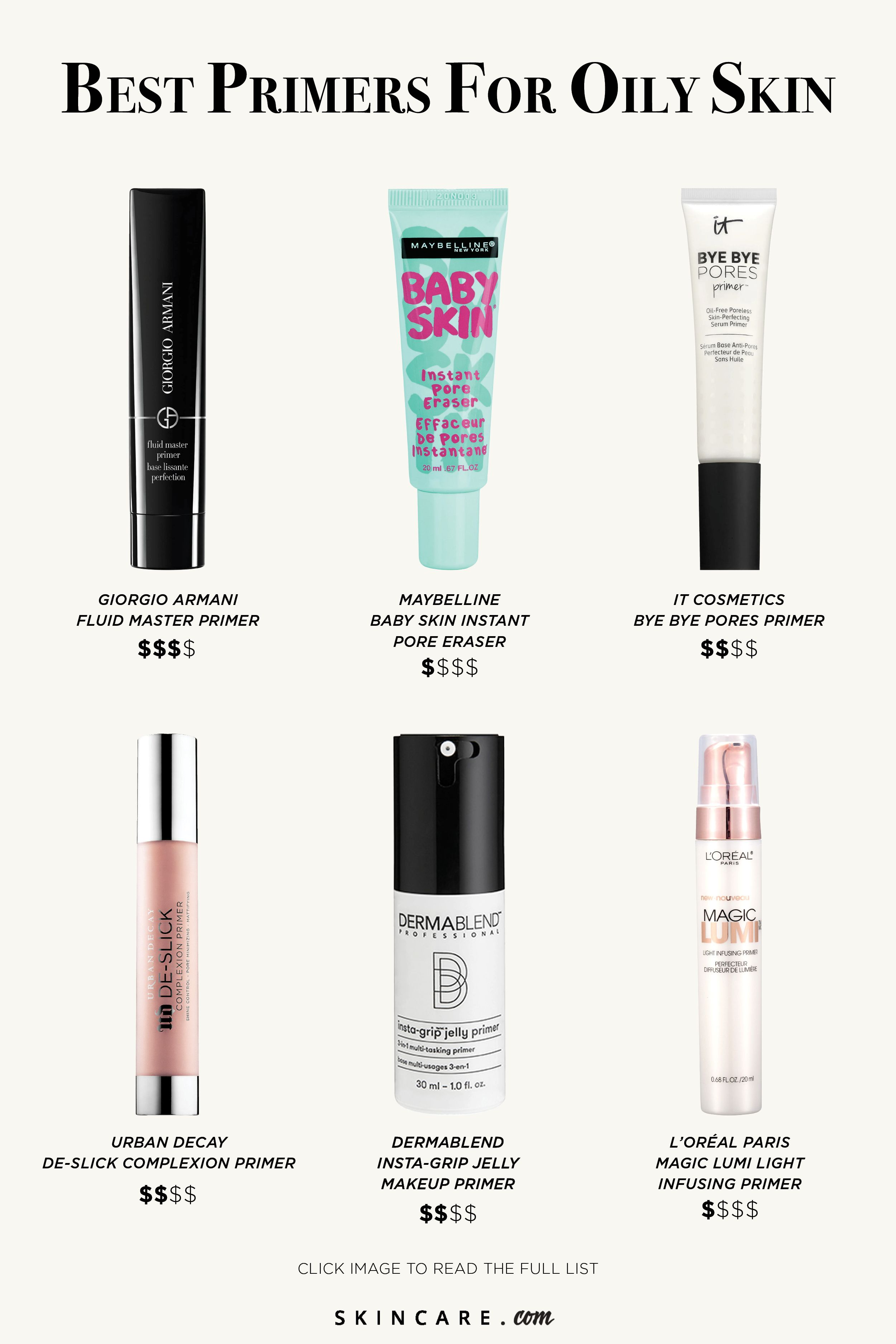 The 13 Best Primers for Oily Skin in 2020 Primer for