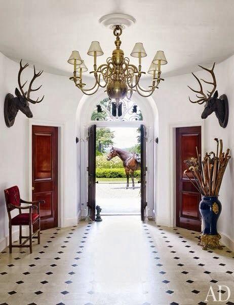 The foyer of Ralph Lauren s home in Bedford b9ec834e32f