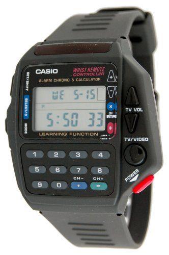 7ad4d6a3f5d Casio Men s CMD40B-1Z Technoware Calculator TV Remote Watch