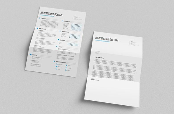 free resume and cover letter templates ready to download