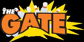 The Gate In Big Rapids Bowling Horseshoes Arcade And Events Big Rapids Arizona Logo Fun