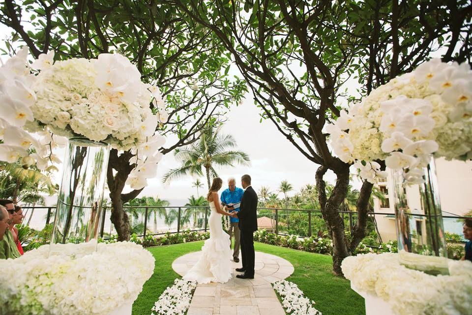 Plumeria Point Ceremony Four Seasons Resort Maui
