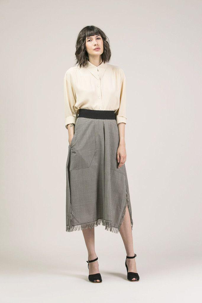 Button Down Shirt by Veronique Leroy #kickpleat #veroniqueleroy