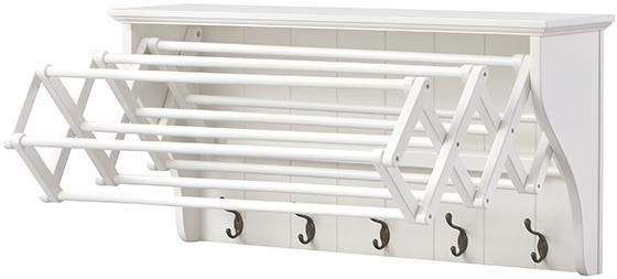 wall mounted clothes drying rack