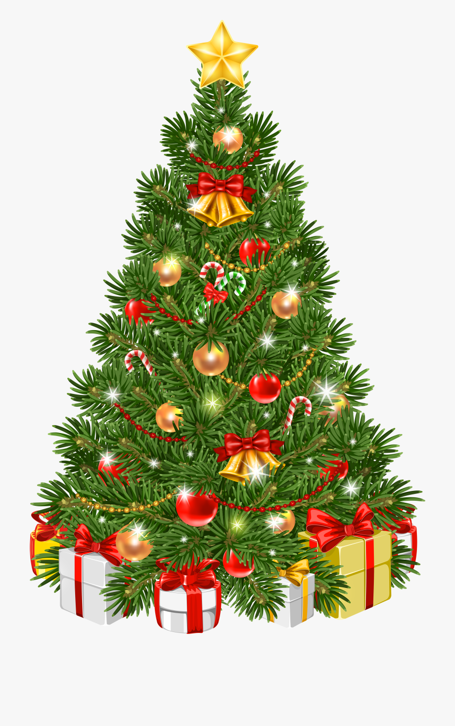 Decorated Transparent Png Clip Art Image Gallery Christmas Tree Clipart Hd Cliparts Christmas Tree Clipart Christmas Tree Decorations Green Christmas Tree