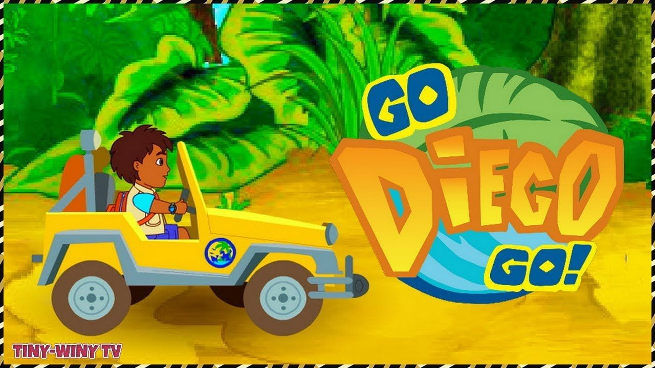 Go Diego Go Diego S African Off Road Adventure Kids