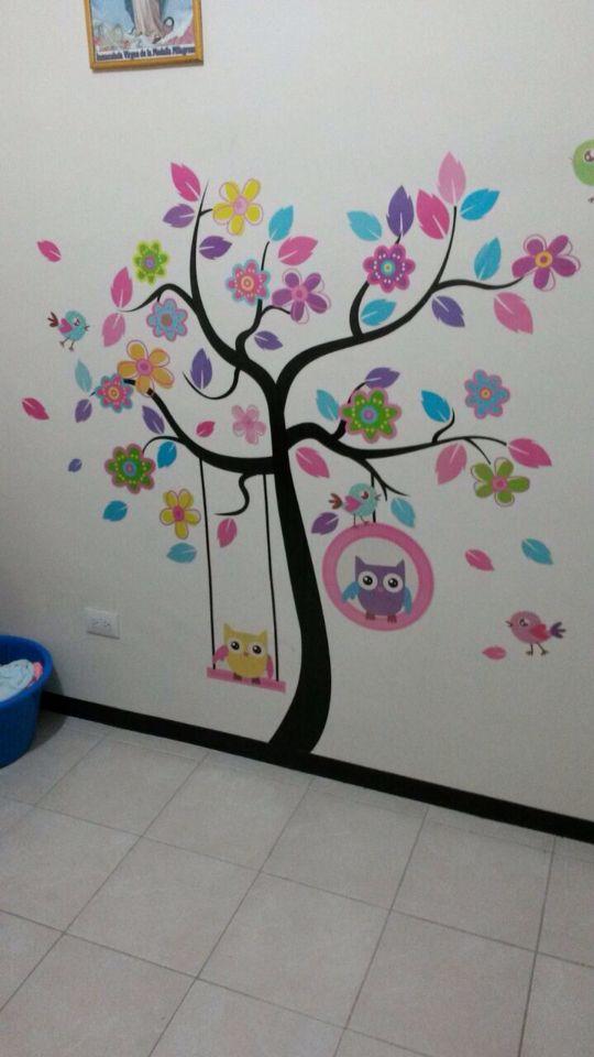 Vinil para cuarto de ni a bebe babys ideas pinterest - Habitacion de bebe nina ...