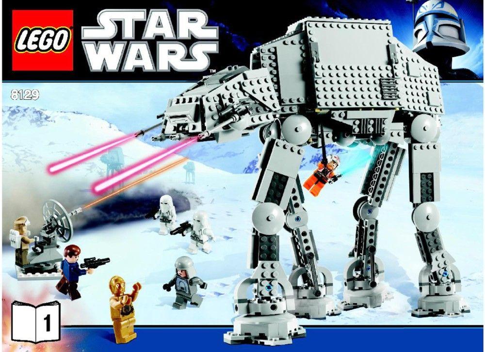 Star Wars At At Walker Lego 8129 Lego Sets Of Epicness
