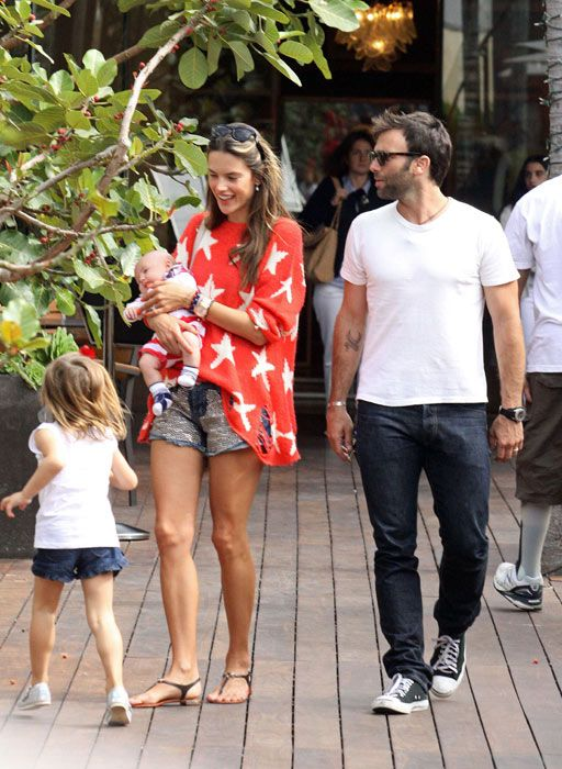 Alessandra And Family Celebrate Baby Noahs First Fourth Of July