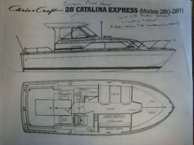 Image result for chris craft catalina restoration Chris Craft 281