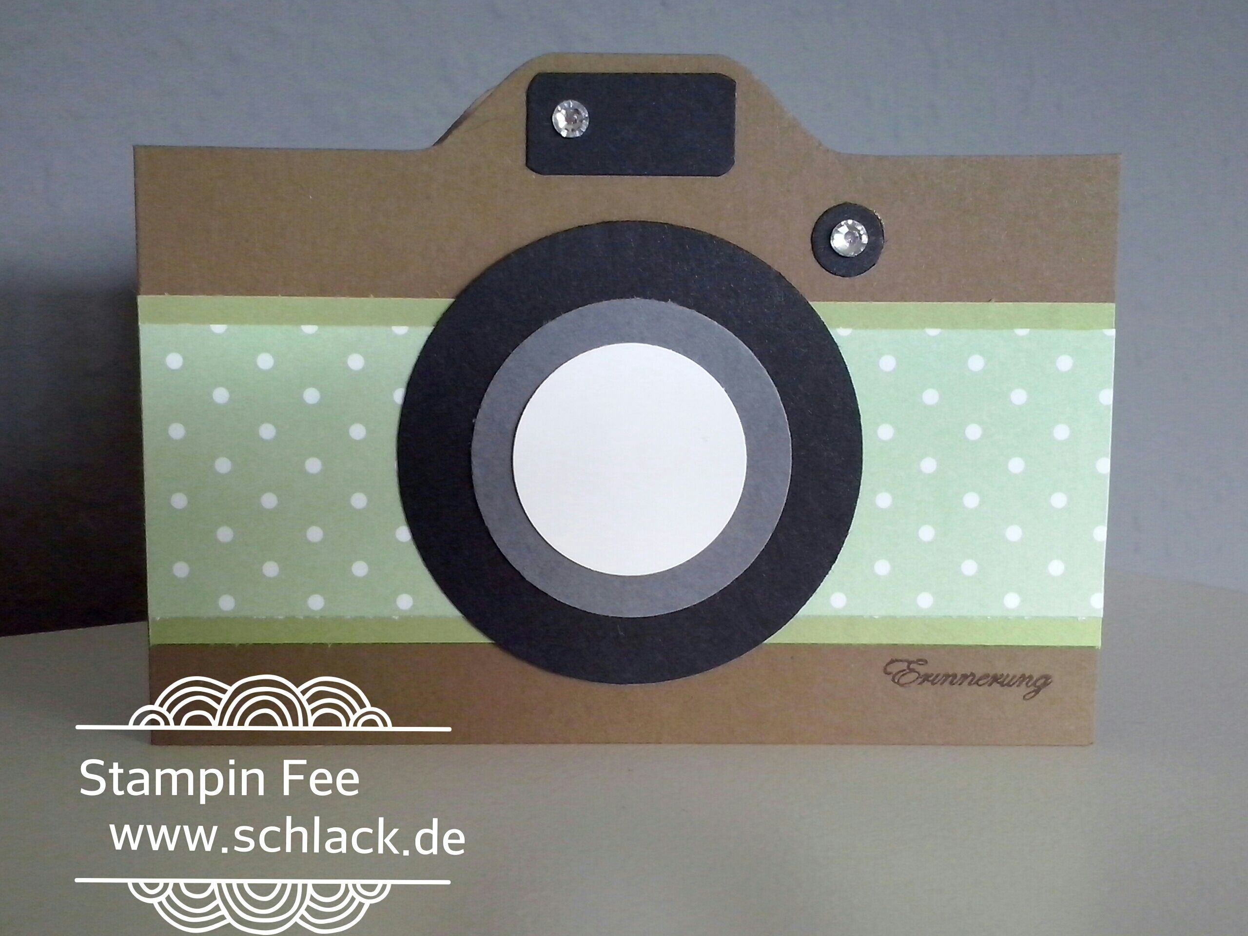 Stampin Up Punch Board Kamera Camera Diy See On Www Schlack De