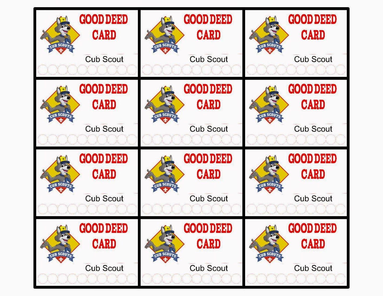 Cub Scouts Positive Behavior Reward Ideas And Free