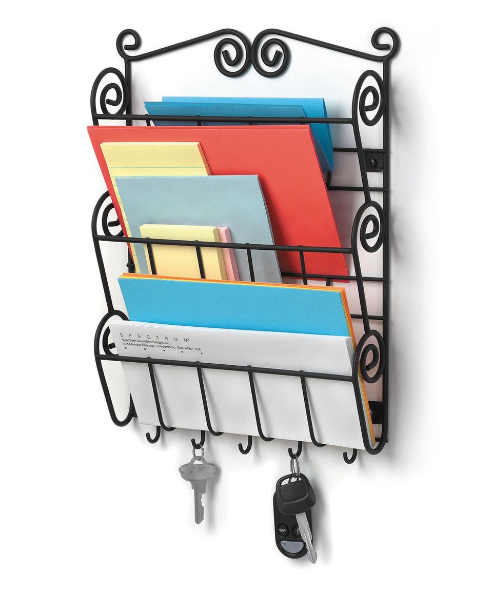 Take a look at this scroll letter holder today zulily home