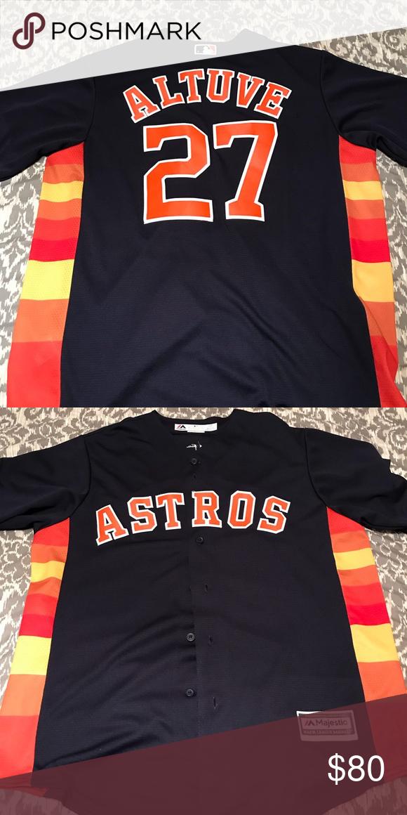 low priced f7309 adea7 Large Houston Astros Jersey Number 27 Jose Altuve jersey ...