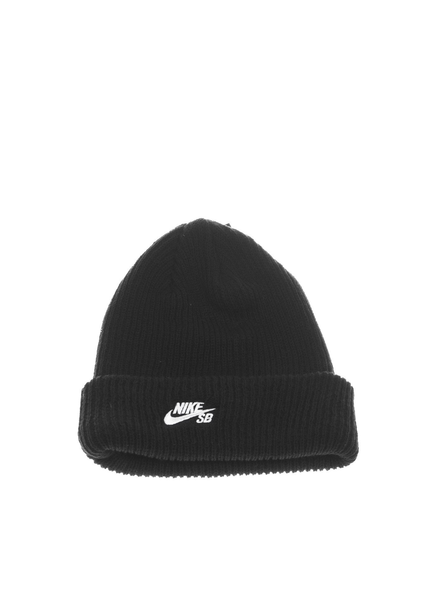 Nike SB Fisherman Beanie Black White  240f835064bb