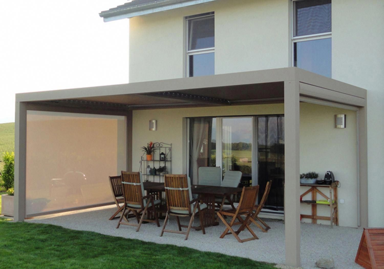 Pergola Bioclimatique Retractable Avis pergola louvered roof #pergoladesignplans id:8891716314