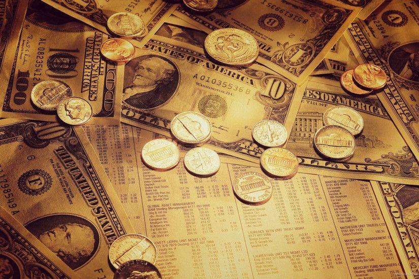 Wide HD Economy Wallpaper | KuBiPeT HD | Gold money, Money ...