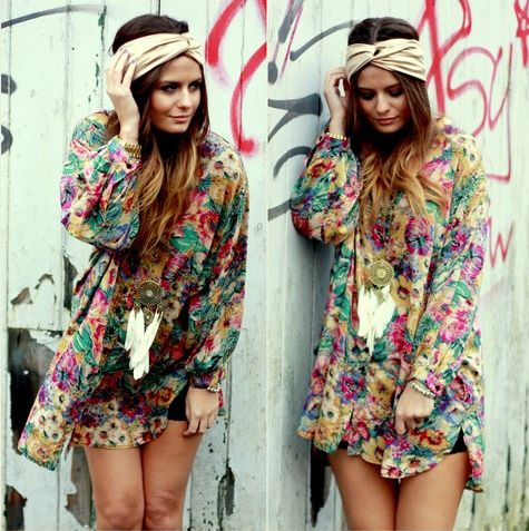 not usually into the boho but this is pretty cute