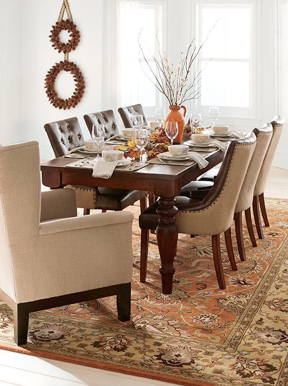 Walton Dining Table   Home Decorators