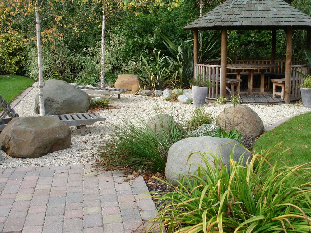 Gravel Boulder Garden   Google Search