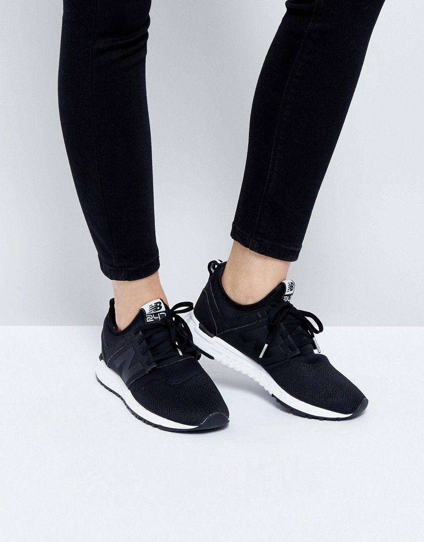 Buy it now. New Balance 247 Trainers In Black - Black. Trainers by ...