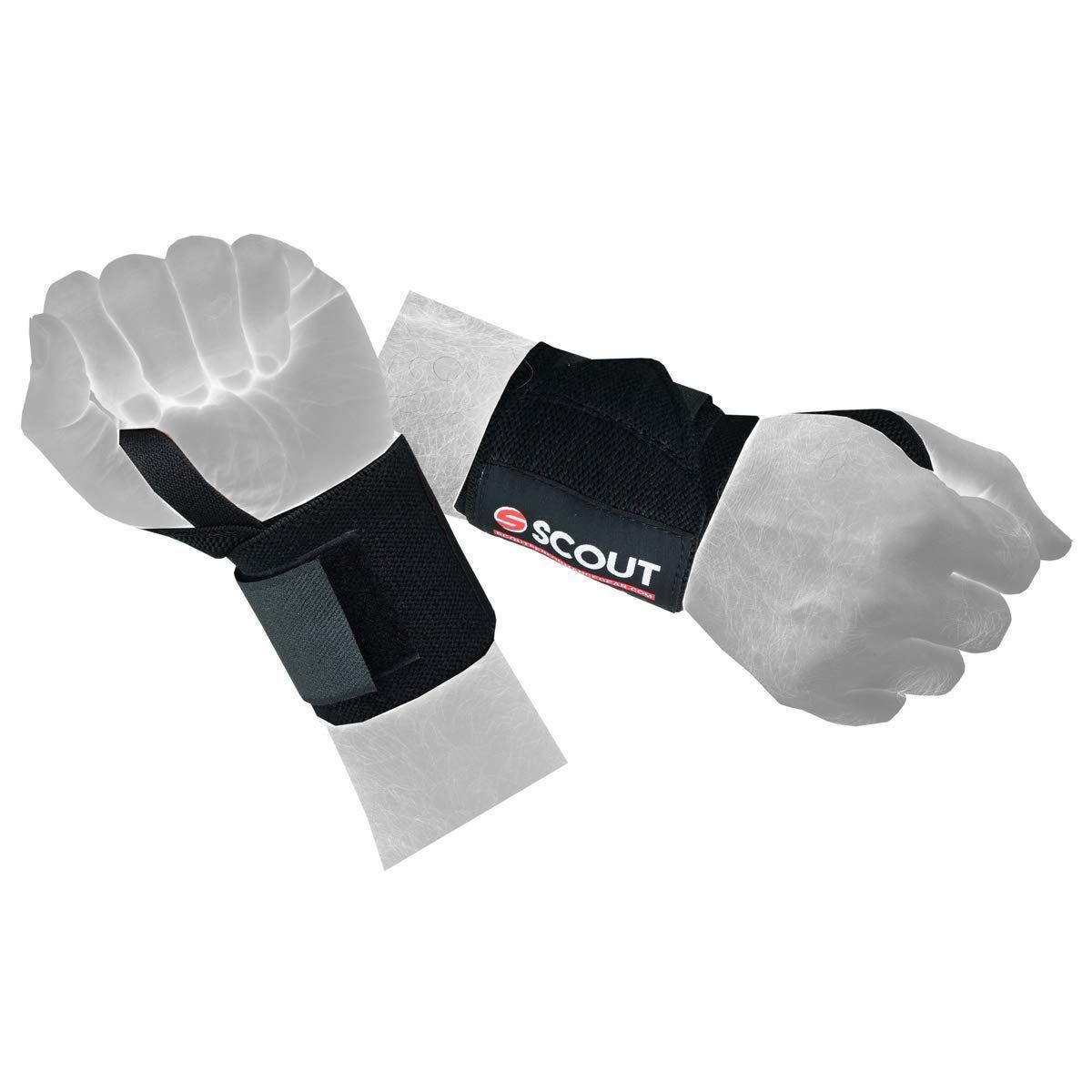 975752d0597ca Amazon.com : ScoutPerformanceGear SPG Power Weight Lifting Wrist ...
