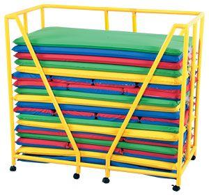 Rest Mat Storage Trolley Cf905 074 Storage Trolley Preschool Furniture Kids Storage