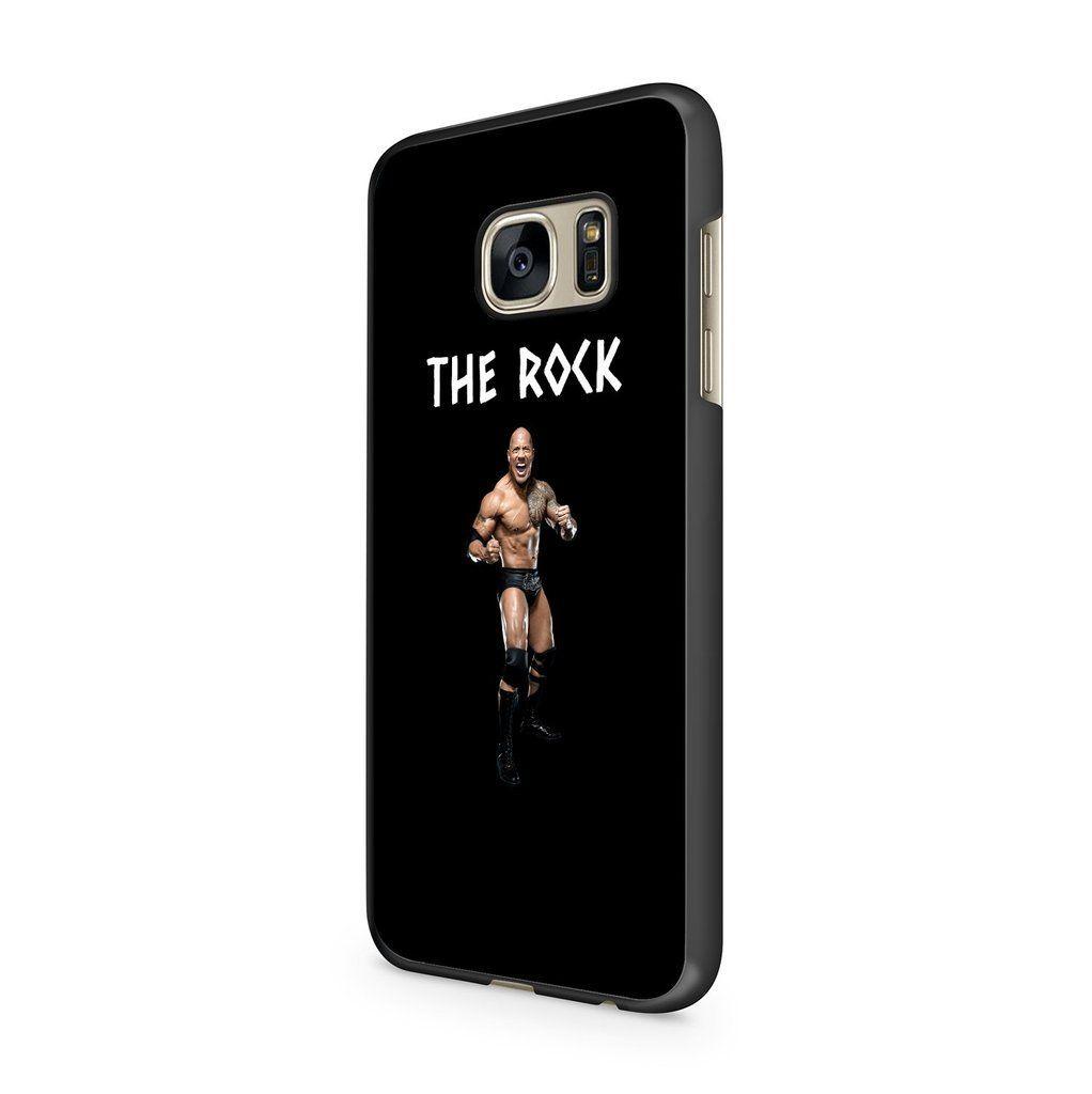 The Rock Dwayne Johnson Wwf Wwe Samsung Galaxy S7 Case  The Rock Dwayne Johnson Wwf Wwe Samsung Galaxy S7 Case